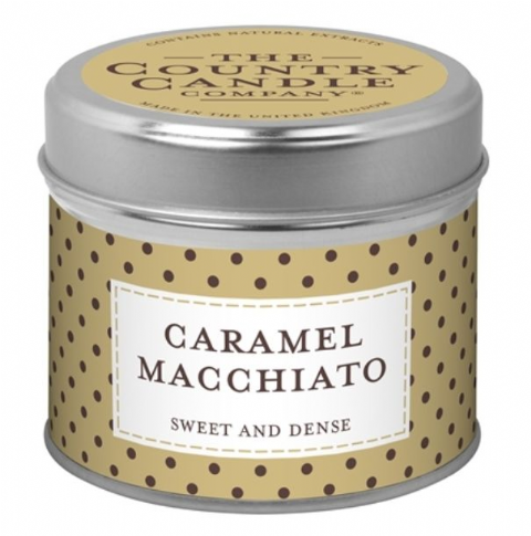Caramel Macchiato - Sweet And Dense Candle In A Tin